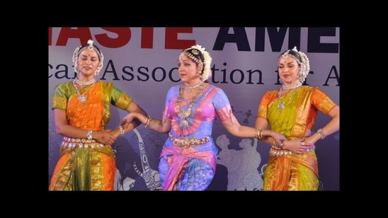 Hema Malini, Esha Ahana Deol Perform at Namaste America