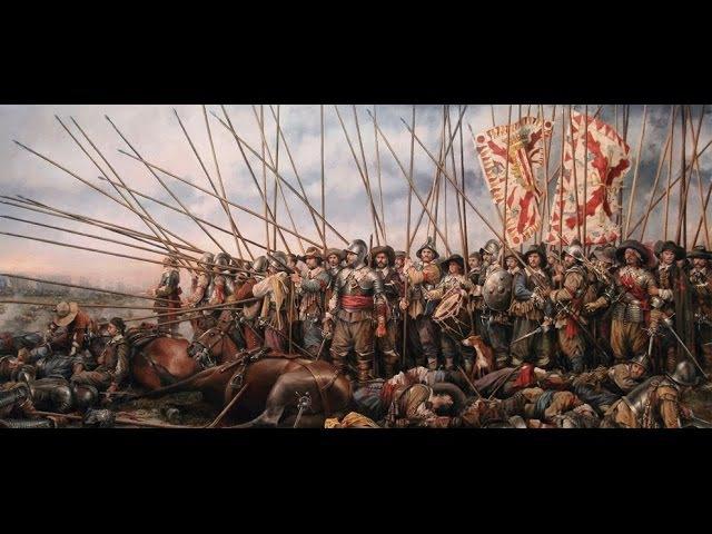 Spanish tercios anthem. Battle of Rocroi, 1643