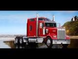 314#Alex-Дальнобой США...Март в Калифорнии...Горы-Далины..USA