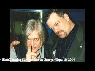 Genesis Breyer P Orridge & Bryin Dall - She's Learning Slowly - Sept 10, 2014 - Live in Geneva