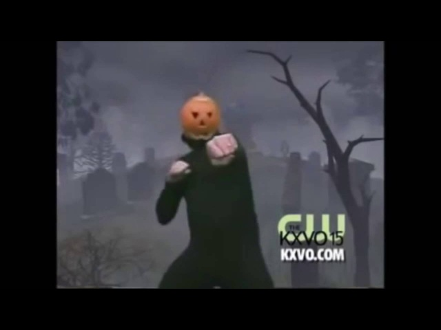 The Pumpkin Man dances to Crazy Noisy Bizarre Town