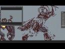 Planet Centauri How to pixel art 5 Lava Golem evolution Attack animation
