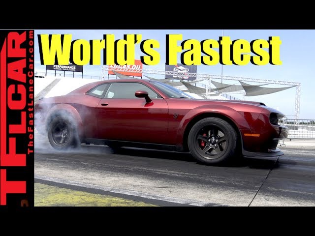 0-60 MPH in 2.3 Sec! How the Dodge Demon is The World's Fastest Accelerating Production Car