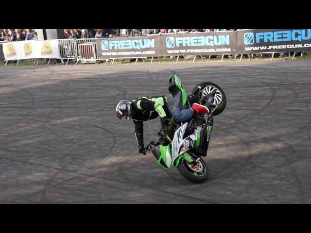 1st Marcin Głowacki - Final run Ouest Bike Show 2016 France