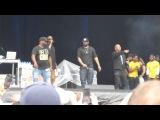 Wu-Tang Clan исполнила C.R.E.A.M.Shimmy Shimmy Ya на Amnesia Rockfest. (23 июня 2017 г.)