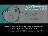 Strip Poker gameplay (PC Game, 1995)