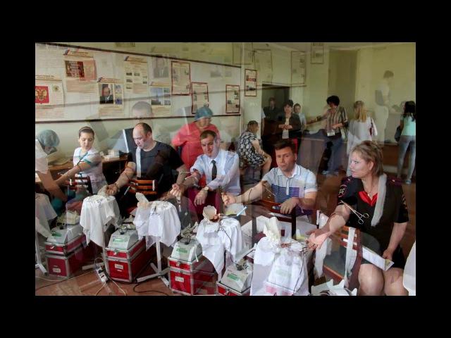 Акция Кровь, спасающая жизни прошла в Управлении ГИБДД МВД по Удмуртии.