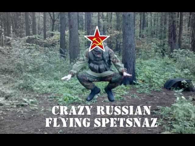 Flight style of Russian spetsnaz