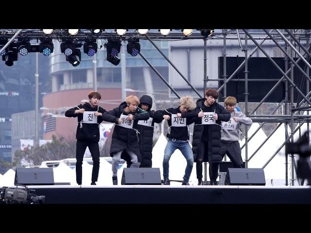 161231 방탄소년단 (BTS) FIRE (불타오르네) 드라이 리허설 [전체] 직캠 Fancam (2016 MBC 가요대제전) by Mera