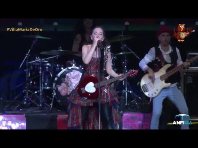 Natalia Oreiro Full concert in Villa Maria 3 2 2017