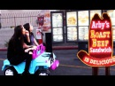 DRIVING THRU ARBY'S IN A TOY CAR w ALLY HILLS! ~episode 5~