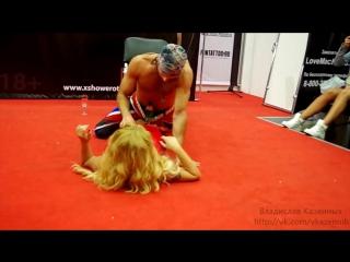 Олеся Малибу на X-Show 2014.mp4