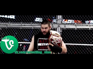 Seth Rollins vs. Kevin Owens - HIAC match for the WWE Universal Title (NotVine)