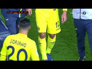 Кубок Испании 2016-17 . 1/16 финала ( Ответный матч ) Вильярреал — Толедо . 20.12.2016