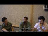 SDCC  Talk Nerdy With Us   Harry Shum Jr, Matthew Daddario, Isaiah Mustafa   RUS SUB   HS