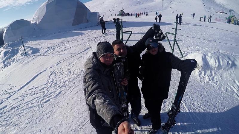 Лыжники - фуфлыжники. GoPro. Movie