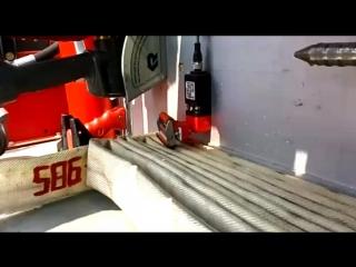 ПОДАЧА ствола на 30 метров от AA BUFFALO 11000 на шасси Skania