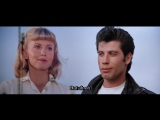 John Travolta & Olivia Newton-John - Summer Nights (Greese, 1978) [16:9] [EnHardSub]