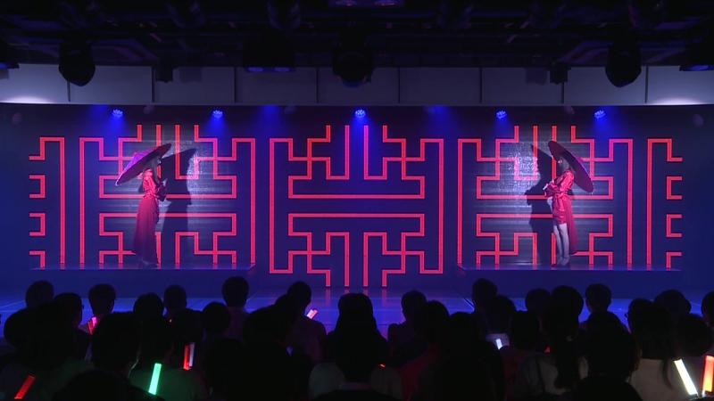 荻野由佳、柏木由紀「残酷な雨」NGT48 Team NII 3rd公演 誇りの丘