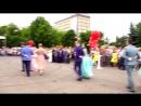 Выпускной-2017. Курчатов. Школа №5. Танец на площади