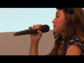 ПОЕТ МАЛЫШКА АННИКА Ya es muy Tarde - Yuridia - Cover Annika Oviedo-kharasach.com