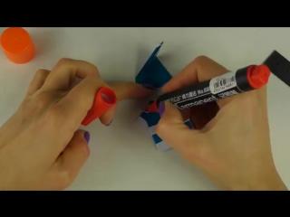 НОВОГОДНИЙ DIY   ДЕД МОРОЗ ИЗ БУМАГИ  Оригами для начинающих