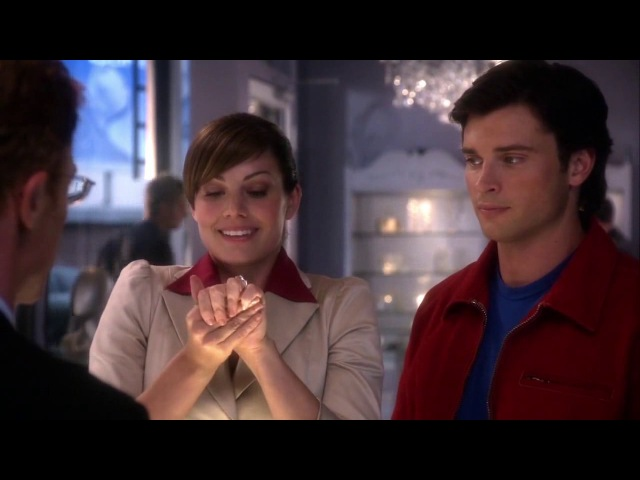 Smallville 8x05 - Committed - Lois and Clark pretend to be engaged