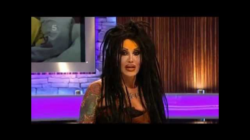 Pete Burns Entering Big Brother's Bit On The Side 22 August 2011