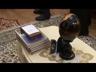 Митрополит Агафангел принял делегацию монахов монастыря святого Павла со Святой Горы Афон в Свято-Успенском Одесском мужском мон