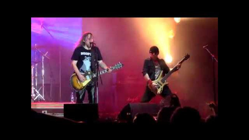 TOK - Fight for rock n roll (kRock festival live 17.06.2016) Kherson, Ukraine