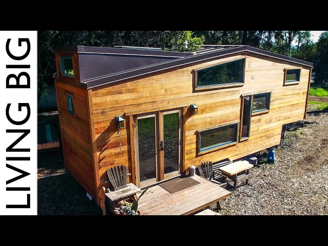 Exquisitely Handcrafted Eco Tiny House