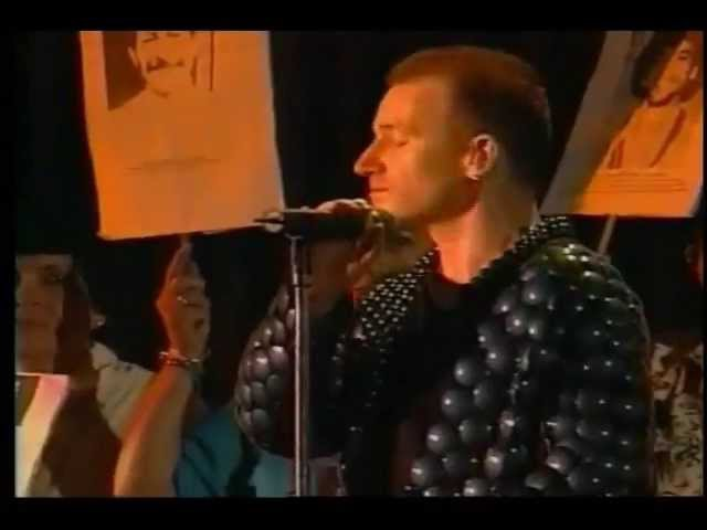 U2 one mothers of the disappeared, Santiago, Chile, Februari 11, 1998