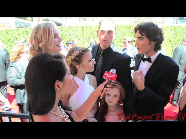 Cast of Dog with a Blog at the 66th Creative Arts Emmy® Awards Red Carpet EmmysArts