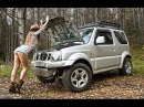 Suzuki Jimny настояший внедорожник с богатырским характером