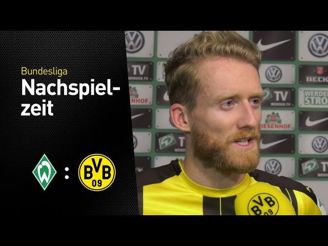 André Schürrle im Interview Werder Bremen Borussia Dortmund 1 2