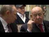 Путин: вместе с легендарными космонавтами посмотрел фильм