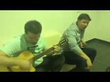 Гарик Харламов поёт песню Бомж/Сектор Газа.