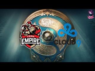 Empire vs Cloud9 (bo1) The International 7