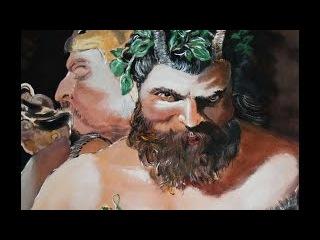 Описание картины Два Сатира репродукция Питера Пауля Рубенса (художник Буянов Д...