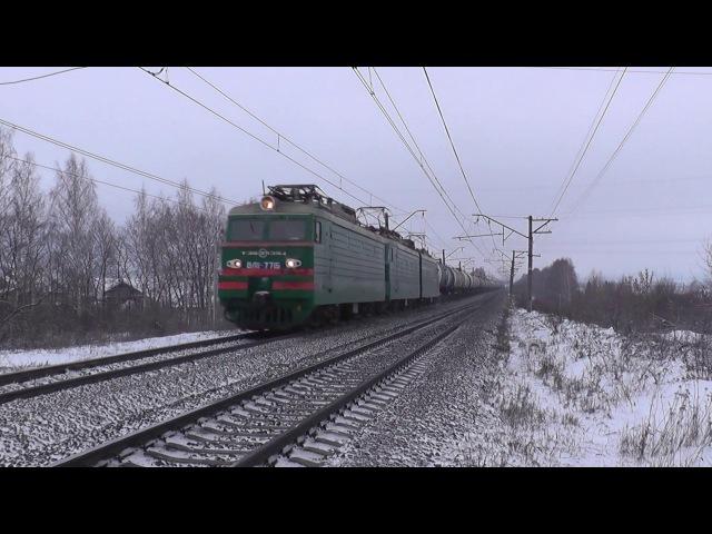 Няша Электровоз ВЛ11 8 771 с грузовым поездом