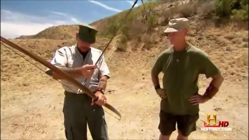 Longbow vs Crossbow with R. Lee Ermey