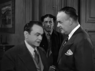 Larceny, Inc. (1942) Edward G. Robinson, Jane Wyman, Broderick Crawford, Jack Carson, Anthony Quinn