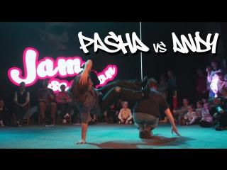 JAM SESSION | TRASH BATTLE | Pasha vs Andy | final