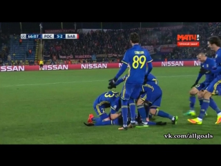 Ростов 3-2 Бавария / гол Нобоа