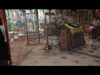 Херувимская песнь. Ночная служба у Святителя Луки в Крыму.