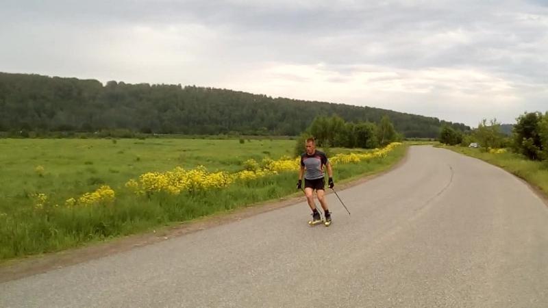 Roller ski Smirnovka 2017-06-11