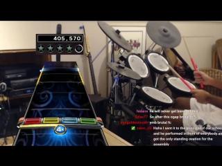 Лютая игра на барабанах! (6 sec)