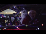 Santa Sleighs It ׃ Ferrari Powered Toyota Santa Sled #GT4586