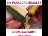 Браслет из паракорда от 5-Minute Crafts
