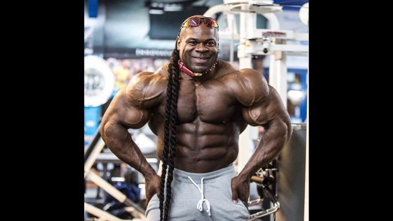 Kai Greene Trains Biceps Triceps. КОРОЛЬ МОНСТРОВ БОДИБИЛДИНГА